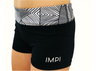 Black Little Impi Running Pants