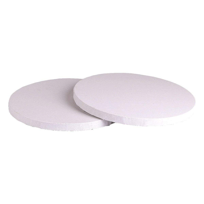 Transon Primed Stretched Canvas Pack of 2 Special Round Shape 12 inches