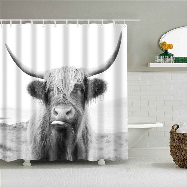 Yak Fabric Shower Curtain