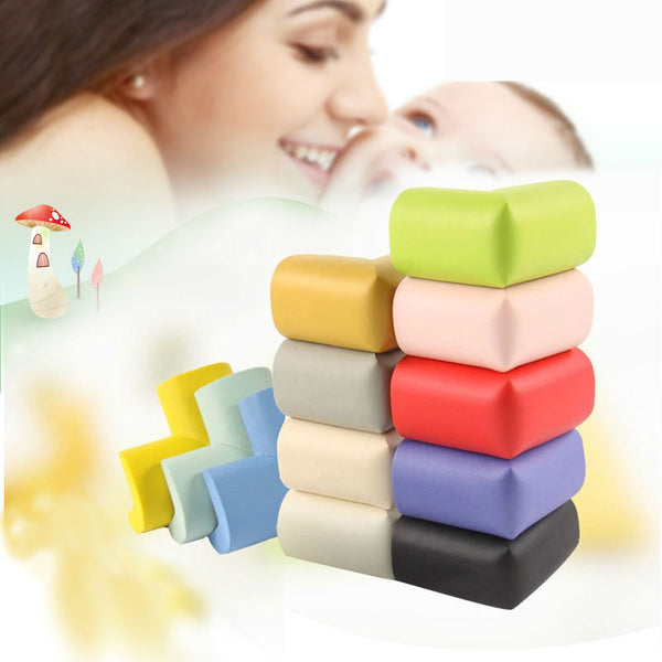 10pcs/lot Free Shipping Thick Corners On The Table 10 Colors Cover Cushion Not Hurt Furniture Essential Pads On Corners - Wel Bell