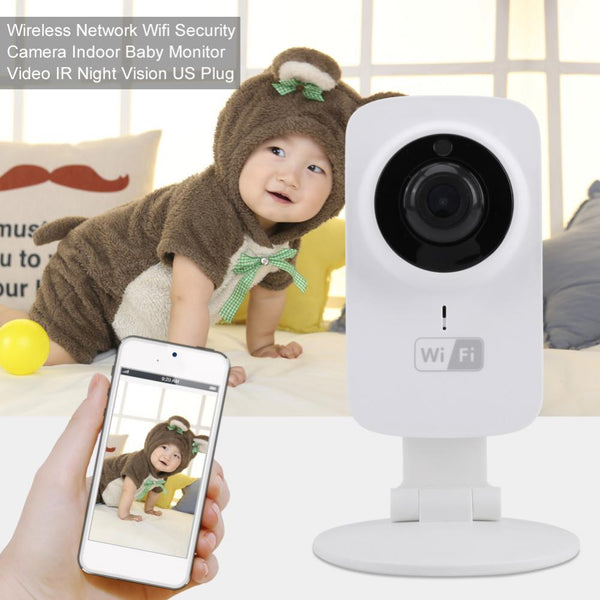 Baby Sleeping Monitor Wireless Digital Video 720P Camera Baby Security Radio Baby Monitor Audio Night Vision Temperature Display - Wel Bell