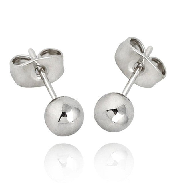 2016 1Pair Classic Trendy Women Earring Ear Stud Jewelry - Wel Bell