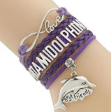 fashion hot selling charm bracelet Customized  Handmade Braided and Layered DIY Bracelet - Wel Bell