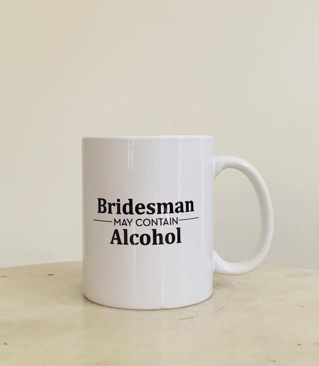 Mugs, Bridesman Mugs