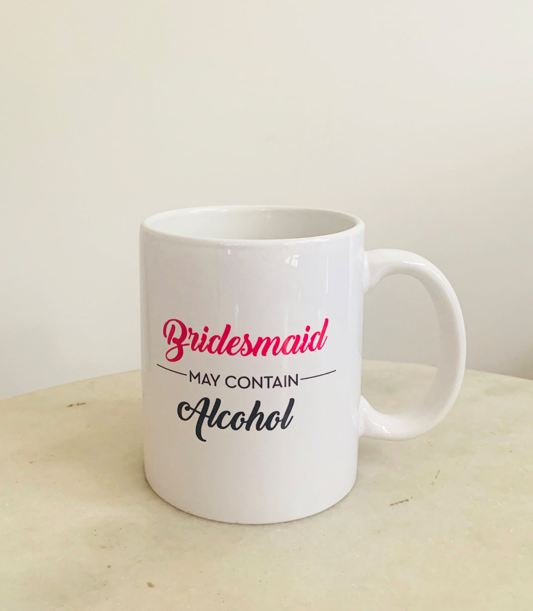 Bridesmaid Alcohol Mug