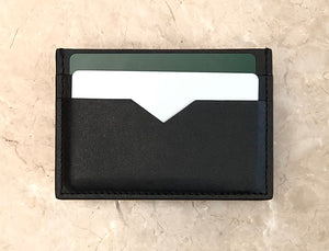 Leather Cardholder Set - Classic Black