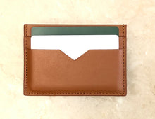 Leather Cardholder - Smooth Tan