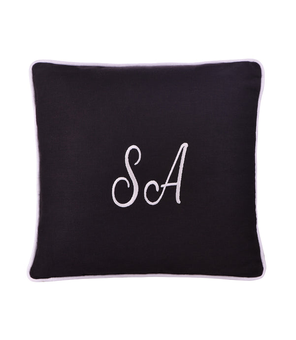 Personalized Cushion - Charcoal