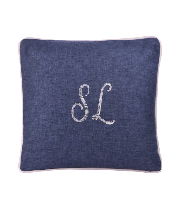 Personalized Cushion - Denim
