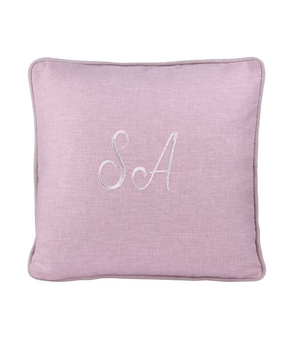 Personalized Cushion - Blush Pink