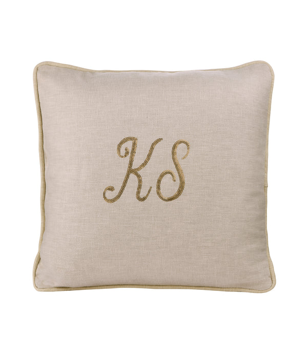 Personalized Cushion - Ivory