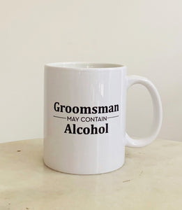 Mugs, Groomsman Mugs
