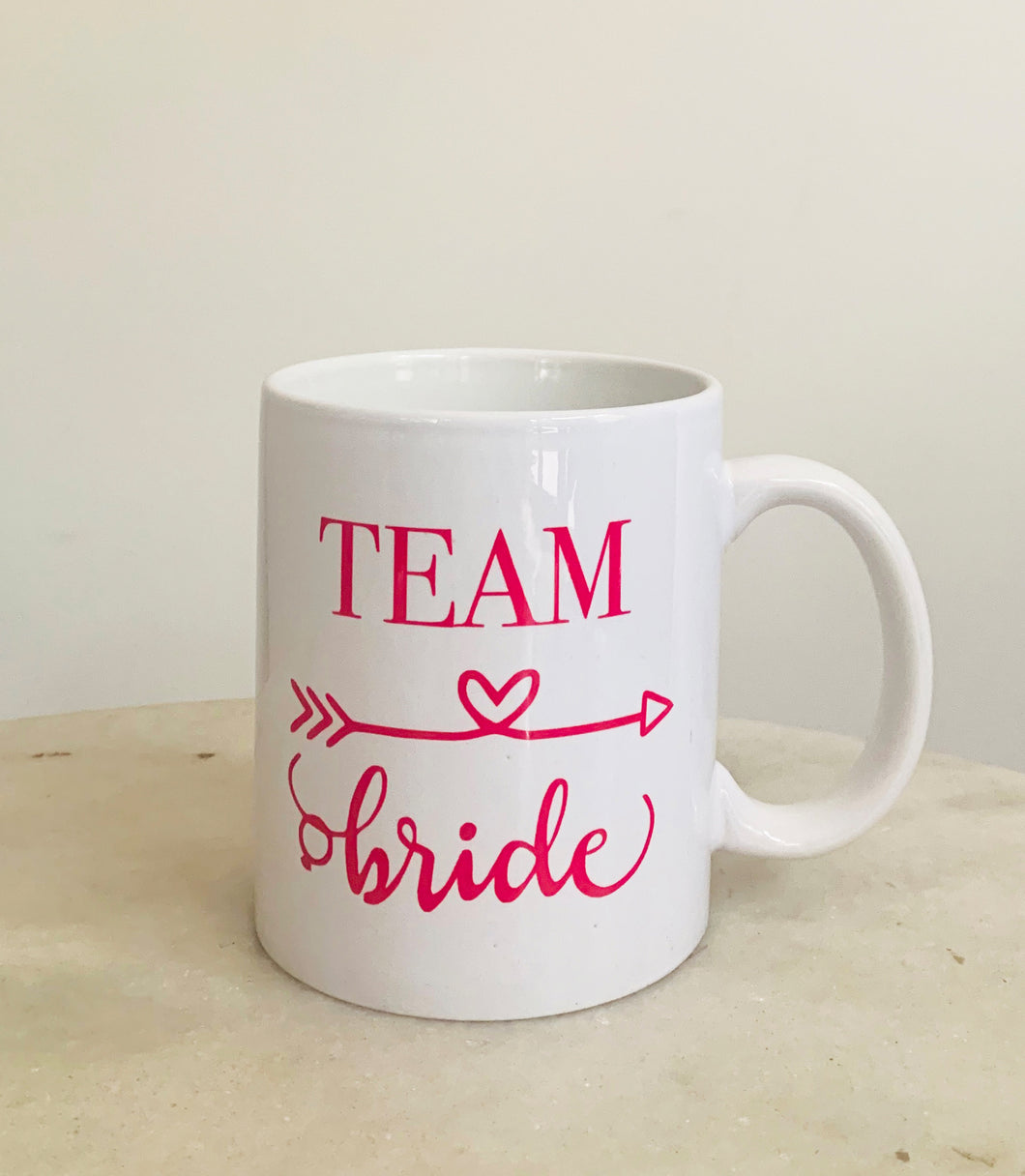 Personalized Mugs, Team Bride Mug