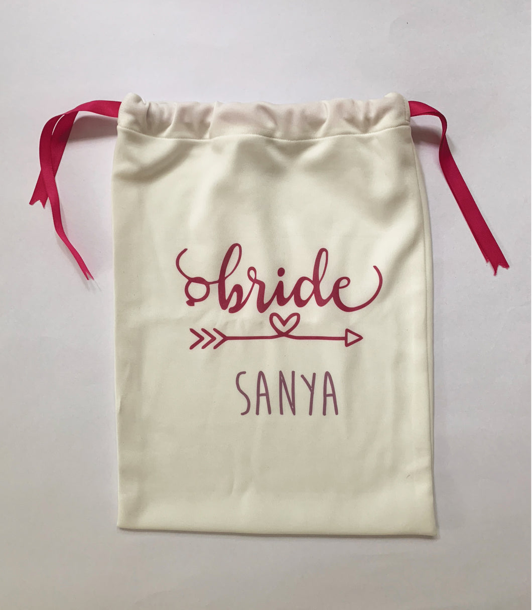 drawstring bags, personalised bags, bachelorette gifts