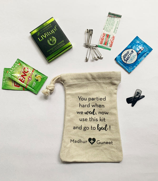Personalized Hangover Kits
