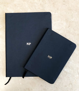 Large Notebook - Dark Blue