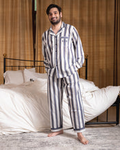Cotton Pj Set - Broad Stripes His