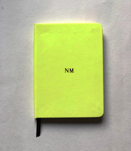 Small Notebook - Neon
