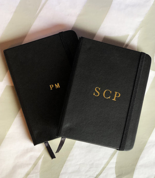 Small Notebook Set - Black