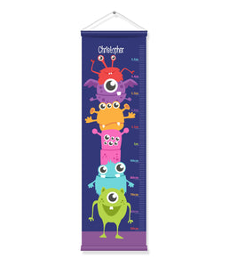 Canvas Growth Chart - Aliens