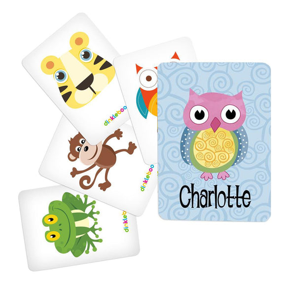Owl Memory Game Animal Pack 1