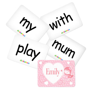 Fairy Memory Game Sight Words Pack 2