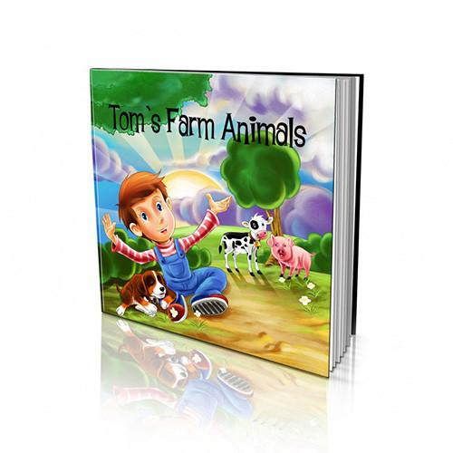 Soft Cover Story Book - Farm Animals