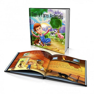 Farm Animals Large Hard Cover Story Book