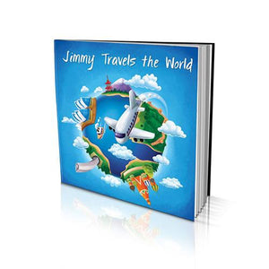 Soft Cover Story Book - Travelling the World from Australia