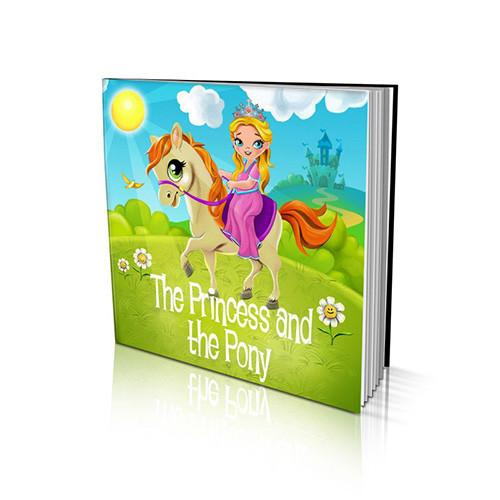 Soft Cover Story Book - The Princess and the Pony