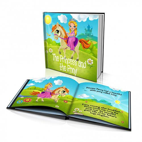 Hard Cover Story Book - The Princess and the Pony