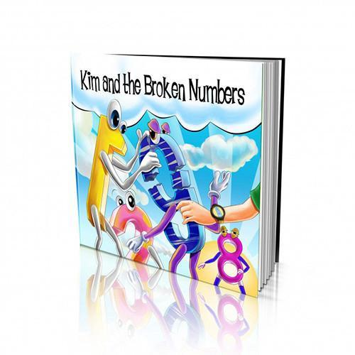 Numbers Large Soft Cover Story Book