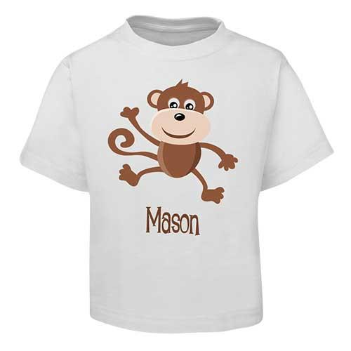 Brown Monkey Kids T-Shirt