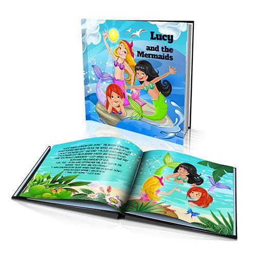 Hard Cover Story Book - The Mermaids
