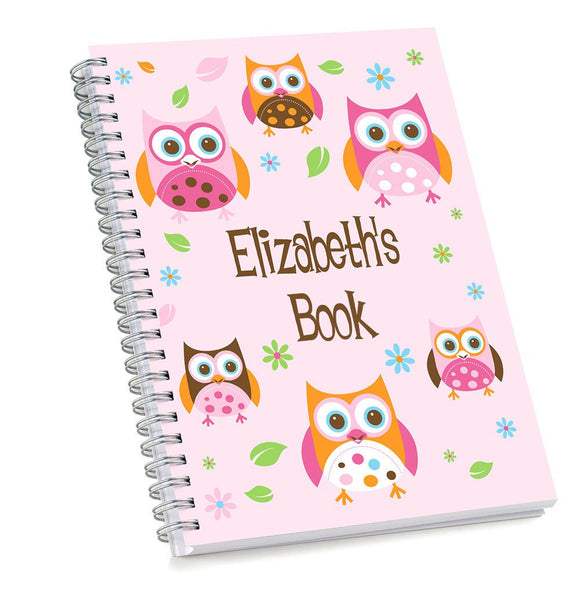 Owl Sketch Book