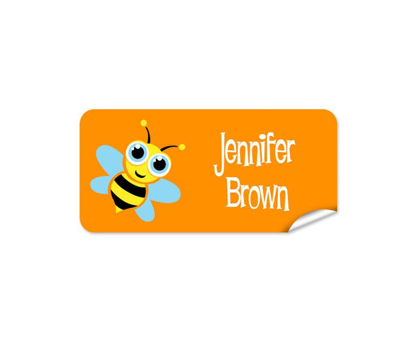 Bee 48pk Labels - Rectangle