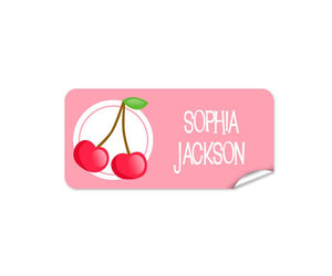 Cherry 48pk Labels - Rectangle