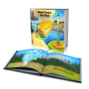 Tours the USA Large Hard Cover Story Book