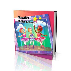 Ballet School Soft Cover Story Book