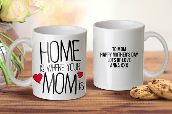Home Is Where Mug - Mother's Day