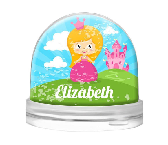 Princess Snow Globe