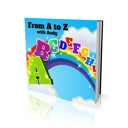 From A to Z Large Soft Cover Story Book