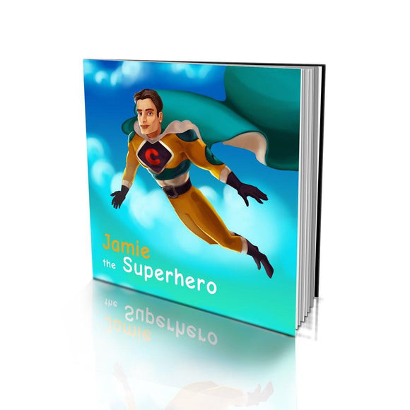 The Superhero Soft Cover Story Book