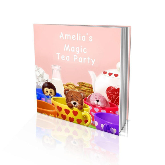Magic Tea Party Large Soft Cover Story Book