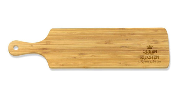 Queen of the Kitchen Long Bamboo Serving Board