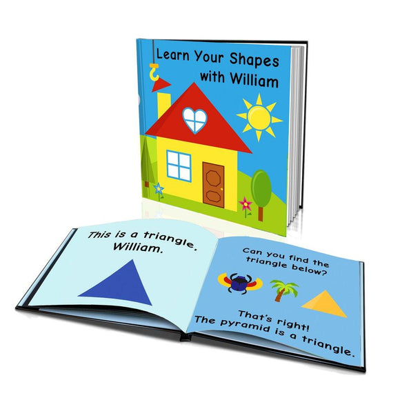 Learn Your Shapes Hard Cover Story Book