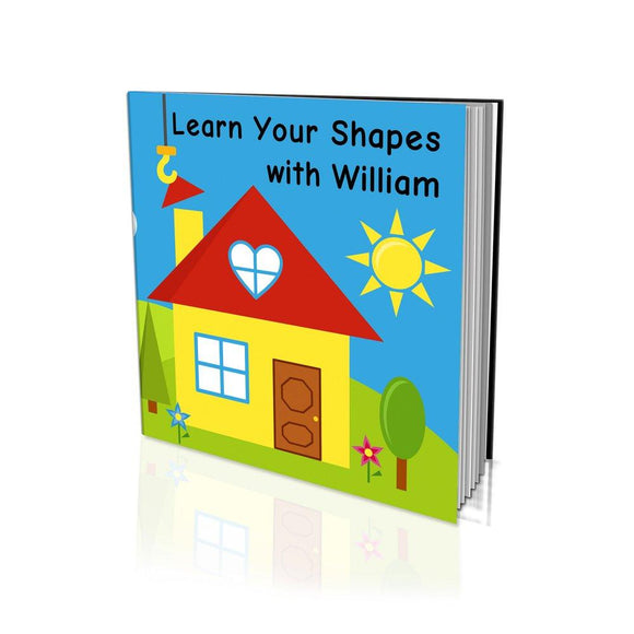 Learn Your Shapes Large Soft Cover Story Book