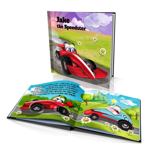 The Speedster Large Hard Cover Story Book