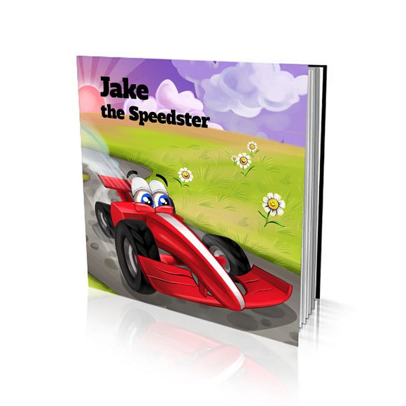 The Speedster Soft Cover Story Book