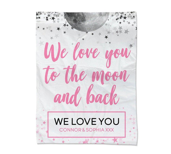 Moon & Back Blanket - Small